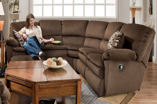 Catnapper Falcon Chocolate Reclining Sectional 1 479 00