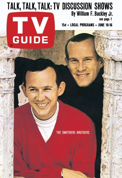 TV Guide: June 10, 1967 - The Smothers Brothers - Dick and Tommy