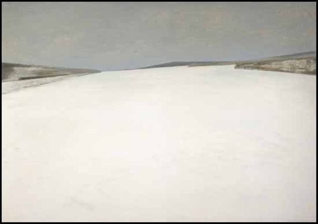 Quebec artist Jean-Paul Lemieux. He had an uncanny ability to capture the landscapes of Canada.