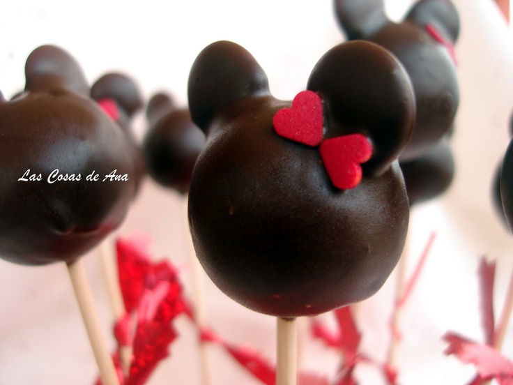 Minnie Mouse Cake Pops: Pops Mickey, Mice, Cupcakes De, Food, Minnie Mouse, Cake Pops, Awesome Cakepops