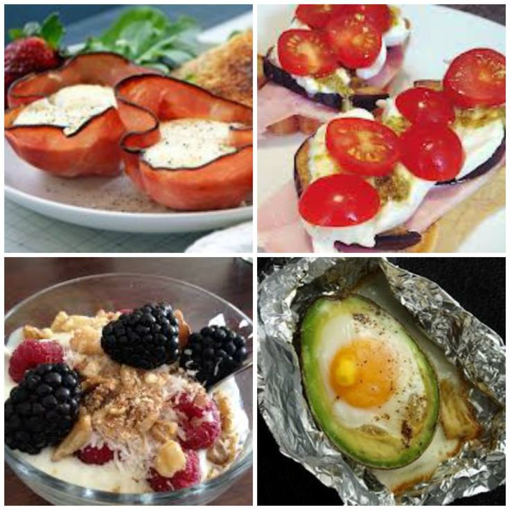 LCHF Breakfast ideas