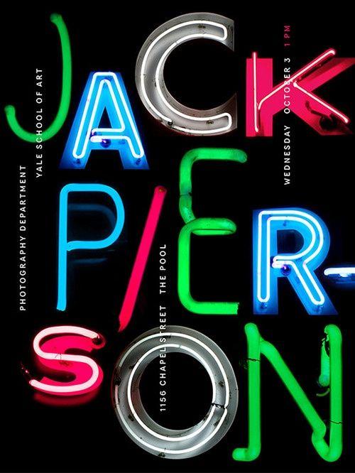 Jack Pierson Poster