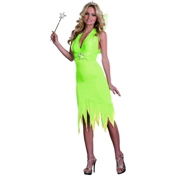 sexy cute tinkerbell fairy pixie dust fantasy halloween costume xl womenu0027s plus size tinkerbell costume