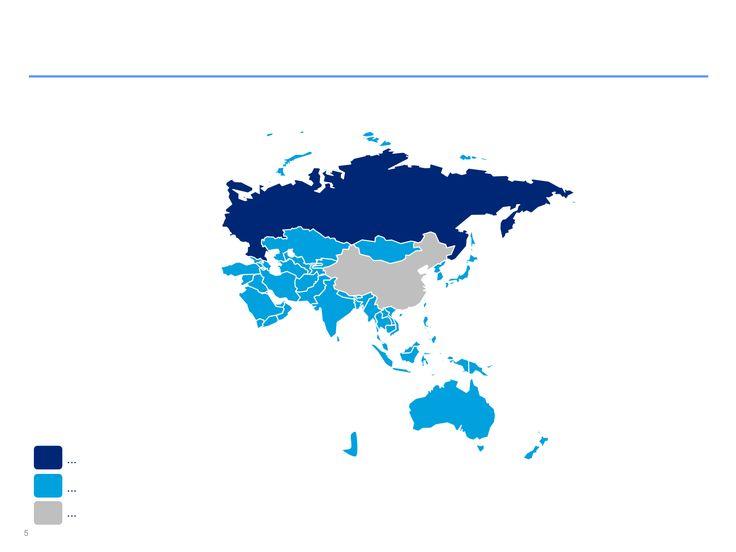 Mapas de Asia Pacífico editables en PowerPoint