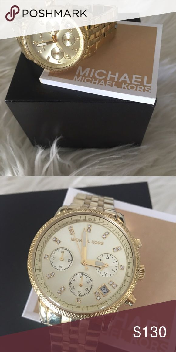 Michael Kors Watch Ladies Gold Watch Michael Kors Accessories Watches