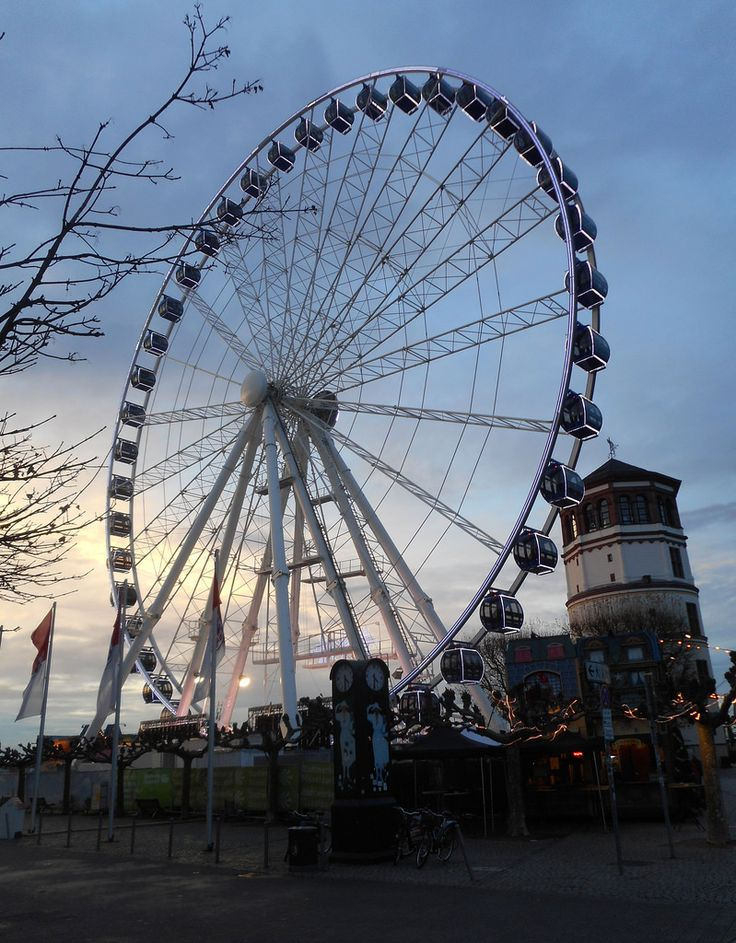 The Fair in Dusseldorf, Germany