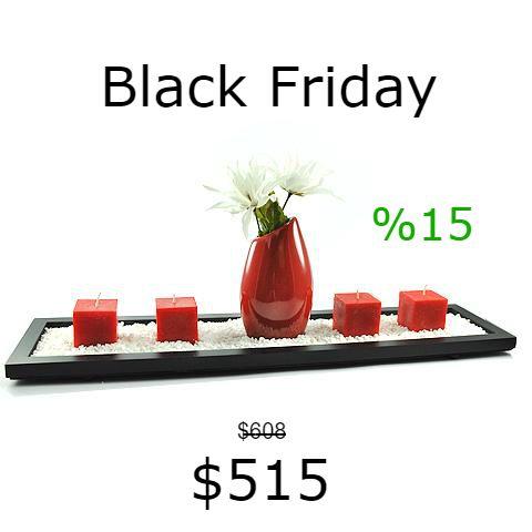 Combo Diamante de Oferta!  Tené el tuyo en:https://articulo.mercadolibre.com.ar/MLA-618286174-bandeja-piedras-florero-velas-decoracion-centro-mesa-_JM  Colores disponibles: Blanco, Negro, Aqua, Rojo, Naranja y Azul