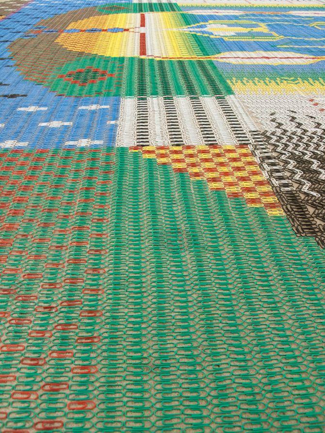 Paperclip Carpet 2 - WE MAKE CARPETS