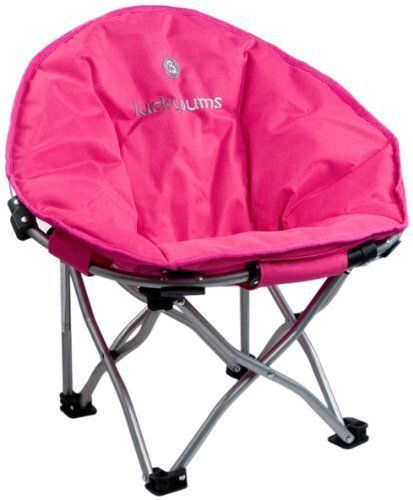 Lucky Bums Moon Camp Chair, Pink - Small #NotApplicable
