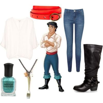 Dress Like 10 Cute Disney Princes...probably wouldnt do the necklace....(: