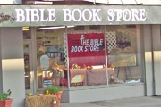 The Bible Bookstore, Downtown Meridian. Since 1975