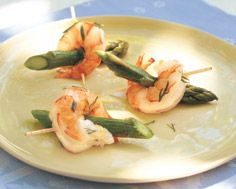 Shrimp and Asparagus Nibbles