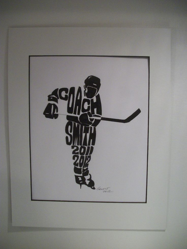I want the field hockey version of this! Personalized Sport Figure Hockey Coach H110 by rongenest. $25.00 USD, via Etsy.
