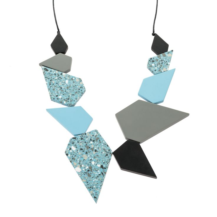 Buy the Polygon Multi Bead Collar Necklace at Oliver Bonas. Enjoy free worldwide standard delivery for orders over £50.