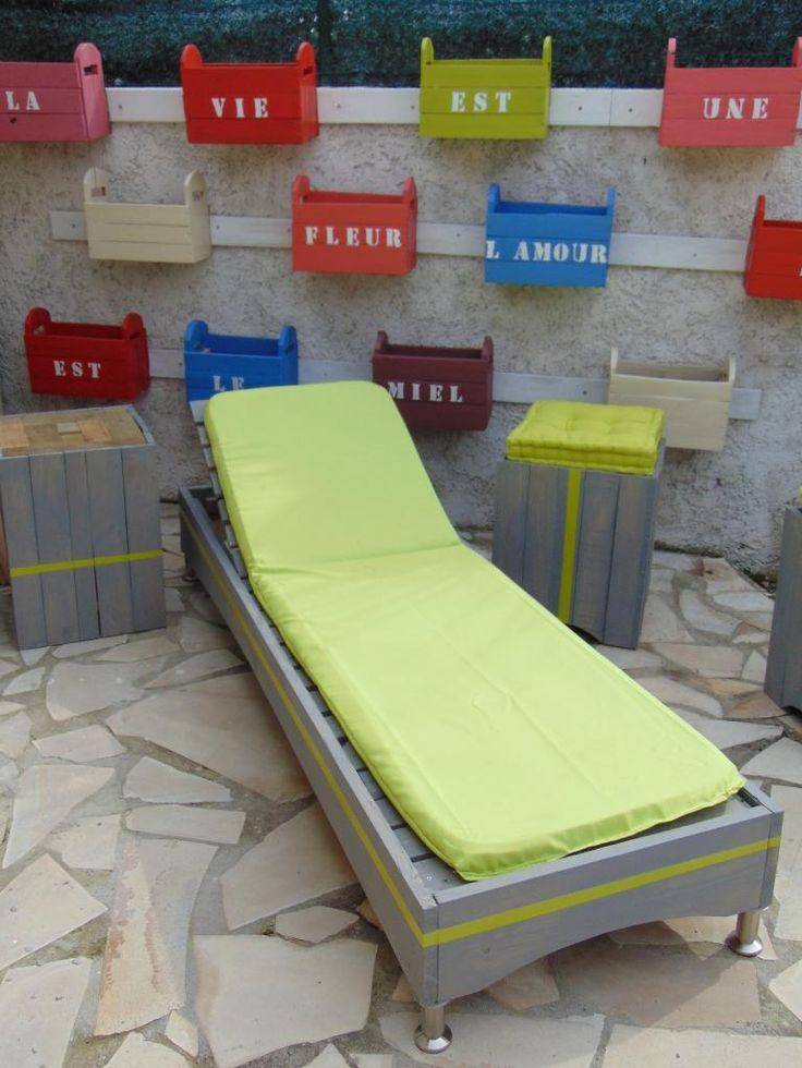 transat en palette palette en bois meuble palette. Black Bedroom Furniture Sets. Home Design Ideas