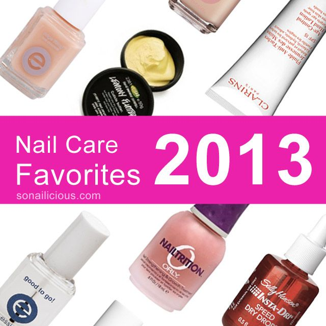 8 Best nail care products of 2013: some of the most effective nail care products for healthy looking and strong nails.