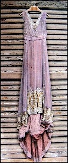Châtelaine's Dreams: Antique dresses found again - an excavation of unearthly beautiful robes: Purple, Carla Erba, Beautiful, Dresses, Vintage Dress, Antique