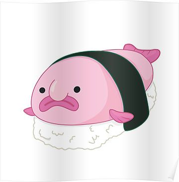 blobfish sushi