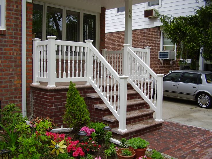 235 best images about vinyl railing on pinterest vinyls for 10 foot porch columns
