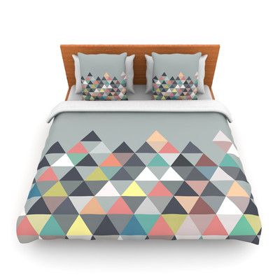 KESS InHouse Nordic Combination Abstract Duvet Cover