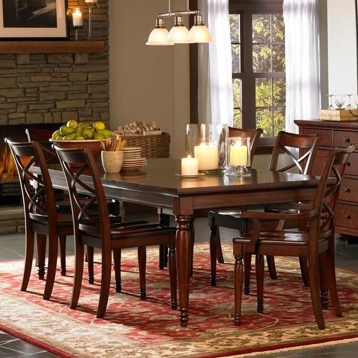 Clinton 5 Piece Dining Set By Morris Home Furnishings