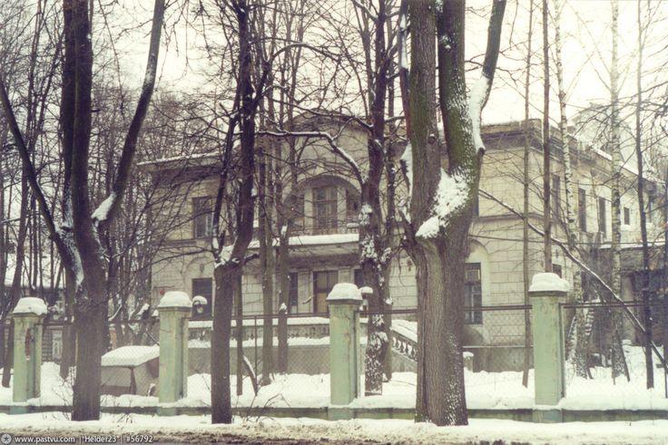 Фотография - Бывшая усадьба П.В. Цигель на 5-м Лучевом просеке в Сокольниках - Фотографии старой Москвы
