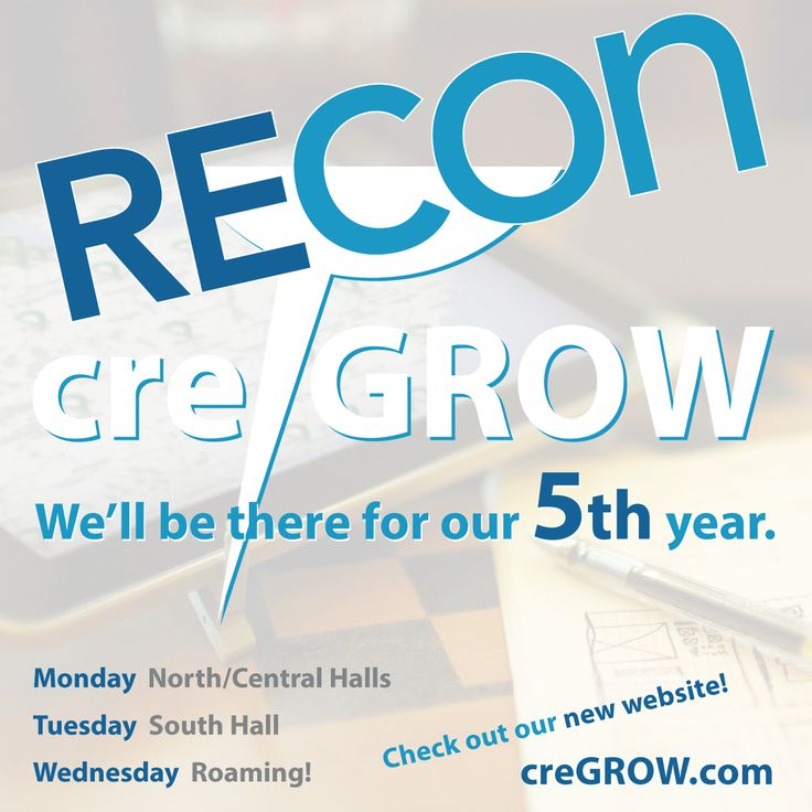 Ready for ICSC RECon in Las Vegas? We'll be there for out 5th year with a new website highlighting our recent work! http://creGROW.com MON: N/C Halls. TUES: S Hall. WED: Roaming. Let's meet! DM, email dave@davelewand.com or text 630.901.1075 | Commercial Real Estate Website Design by creGROW