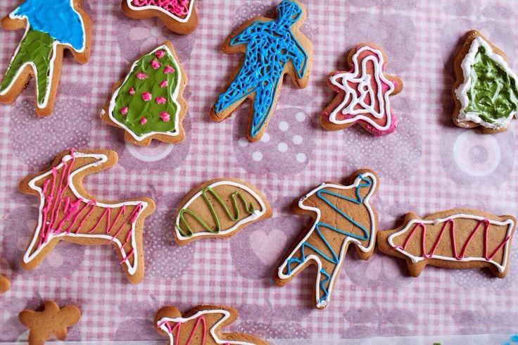 christmas cookies RECIPE HERE!!! JULE FIGURKAGER