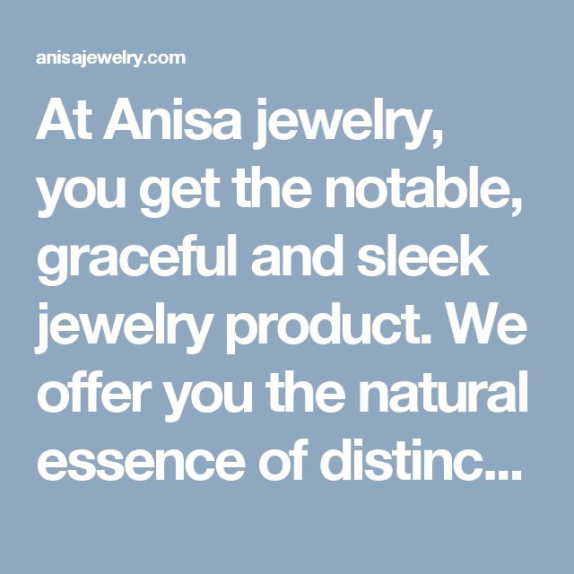 At Anisa jewelry, you get the notable, graceful and sleek jewelry product. We offer you the natural essence of distinctive Sterling Silver Fish Hook Necklace stuffs that you simply can like to purchase them. You'll be able to get your required ocean life jewelry product from us at an economy rate.