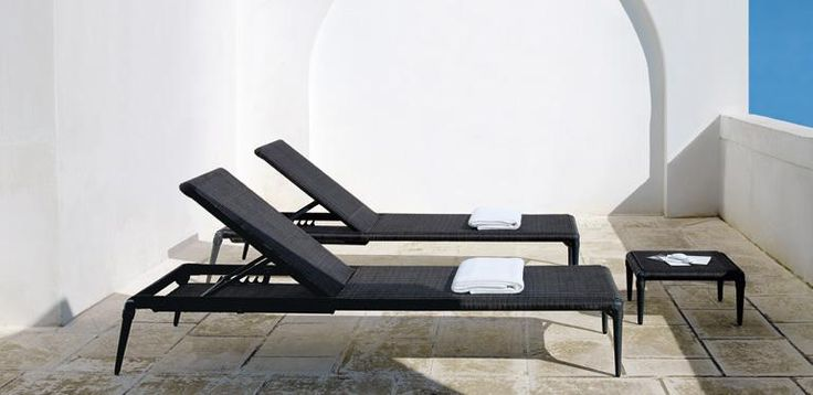Experience chaise-longue by Unopiù #chaiselongue #outdoor #unopiu