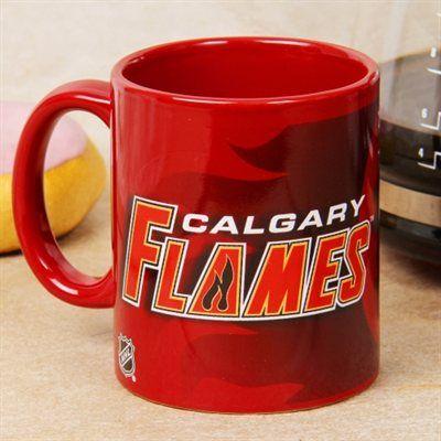 Calgary Flames 11oz. Logo Sublimated Mug - Red