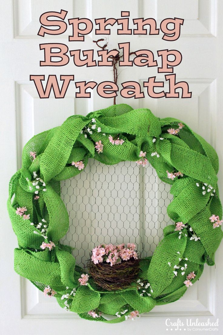 I am gonna make this without the nest.. I already have a wreath with a bird's nest in it.