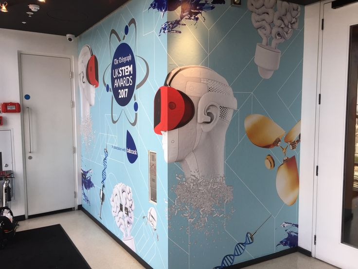 Hertfordshire-based Millharbour Digital recently completed a branding project at Sushi Samba, London to celebrate the UK STEM Awards 2017, which included the printing and installation of a wide array of temporary graphics on multiple surfaces, using Arlon vinyl supplied by CMYUK.