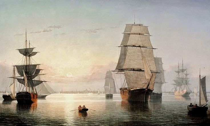 an analysis of the painting boston harbor sunset by fitz henry lane Born nathaniel rogers lane, fitz hugh lane was an american artist and a pioneer in the luminist movement  sunset boston harbor features his trademark style the.
