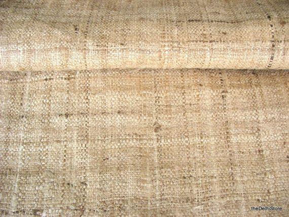 handloom wild silk peace ahimsa silk fabric by