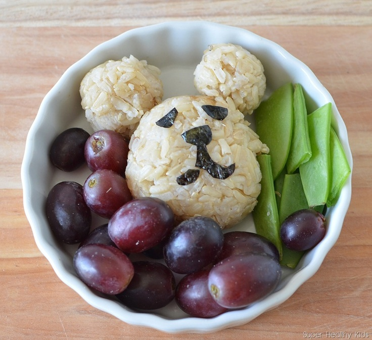 Brown rice bears-an easy way to get kids to eat brown rice and enjoy it! They are also easy to make.