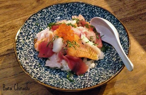 Bara Chirashi from Akari in London Restaurants - 10 Dishes you Have to Try