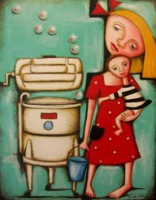 """Ringer""  Facebook...Lyndy Wilson Art"