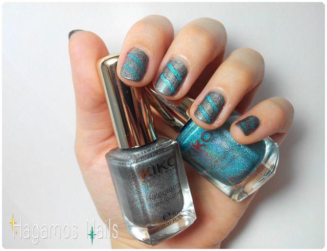 Uñas holográficas. #Boyfriend #nailart #holographic #dejalecrearentusuñas Hagamos Nails