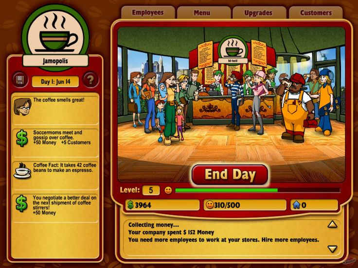 Play Coffee Tycoon business online game at Friv | Jeux Friv 2 Games