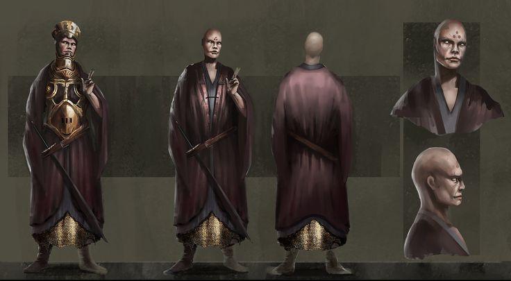 Monk, Simone Lagonigro on ArtStation at https://www.artstation.com/artwork/monk-29d4bce1-dc56-4d37-b55a-25103b9599c2