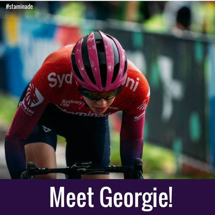 Meet Georgie Whitehouse from the Sydney Uni Womens Cycling team.  Georgie is a rising superstar who we may see at the Olympics and Commonwealth games in the future, so remember her name!  See what she has to say in a Q&A on our blog.