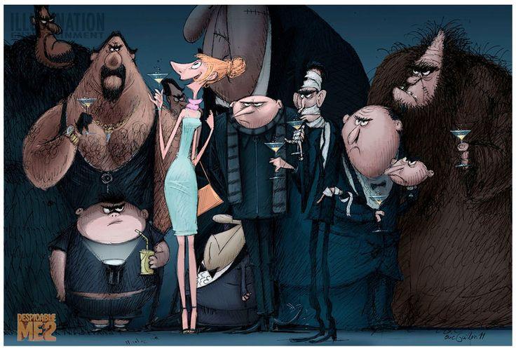 Conheça um pouco da arte de Despicable Me 2 | THECAB - The Concept Art Blog