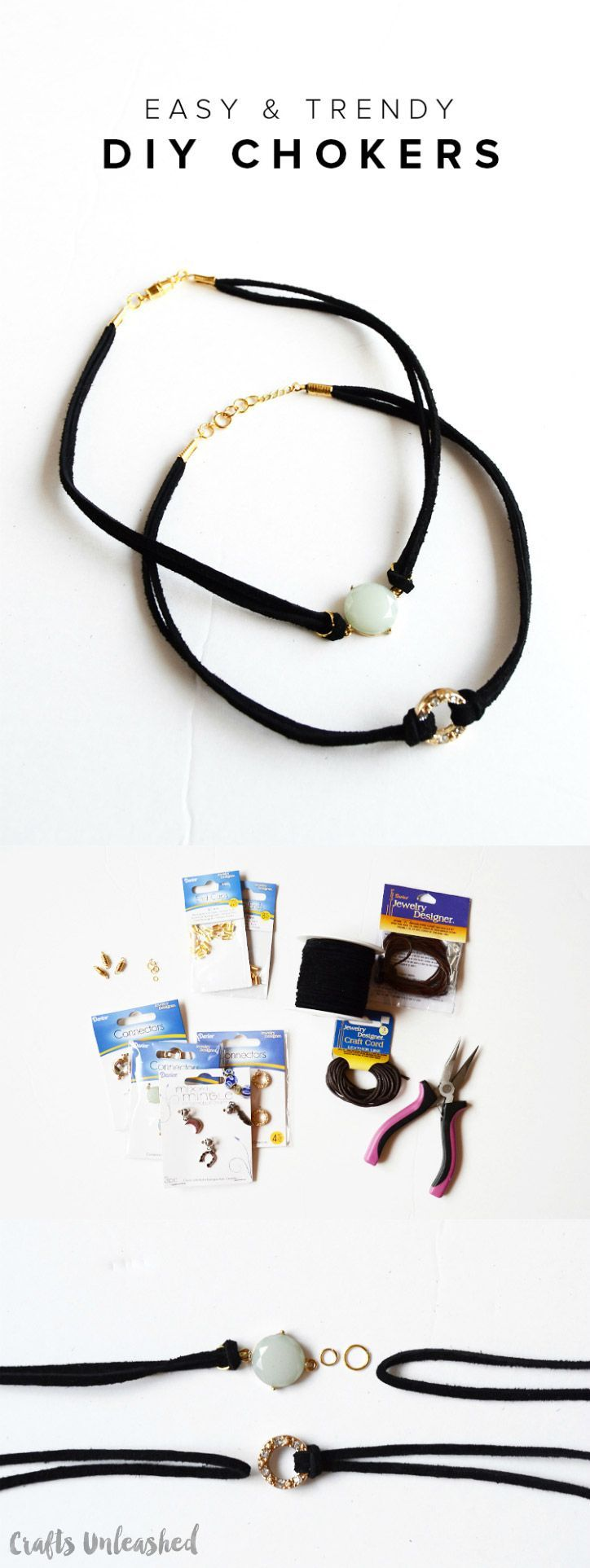 Easy & Trendy DIY Chokers