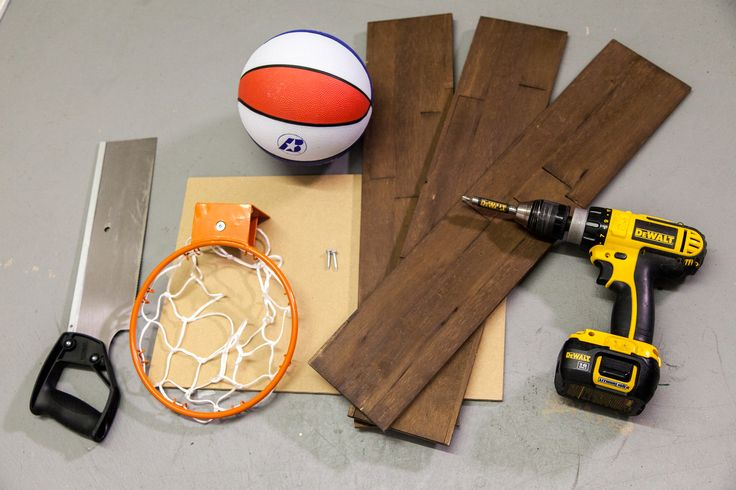 After you've completed your #mywoodwall install, don't toss the scraps...transform them! Head to our blog for a step-by-step guide on making a DIY basketball hoop.