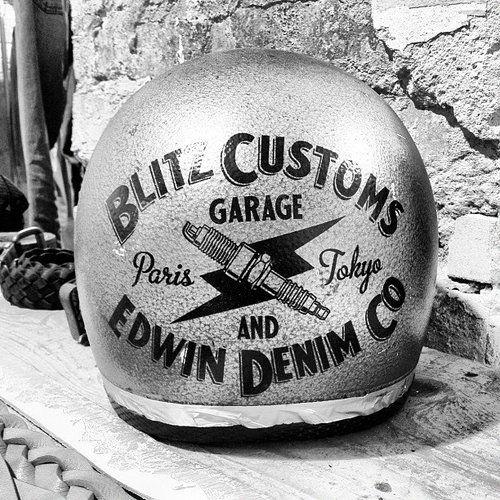 Blitz Customs Helmet