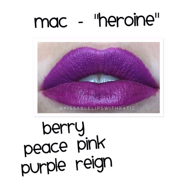 MAC Heroine Dupe Thanks Katie!