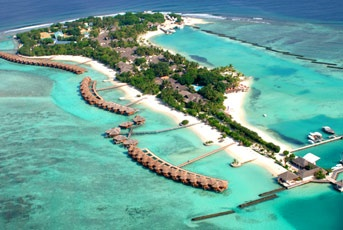 Full Moon Beach Resort, Maldives. Stayed here 15 years ago for our honeymoon, would go back in a heartbeat!