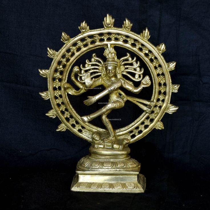 Brass Statue 25-Nataraja God