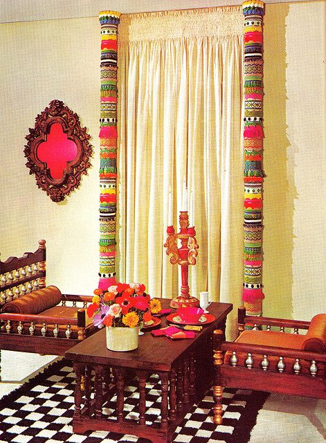 Wow! wat I was exactly looking for! 1001 Decorating Ideas 1971 C by ♥threadbare